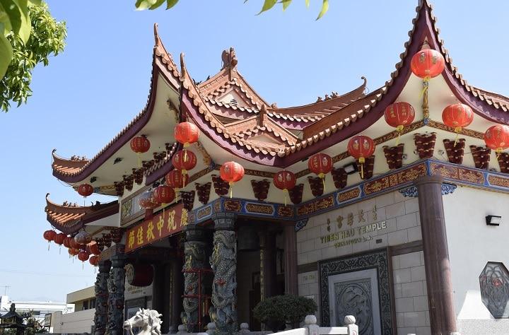 viaje por la Costa Oeste de Estados Unidos los angeles chinatown