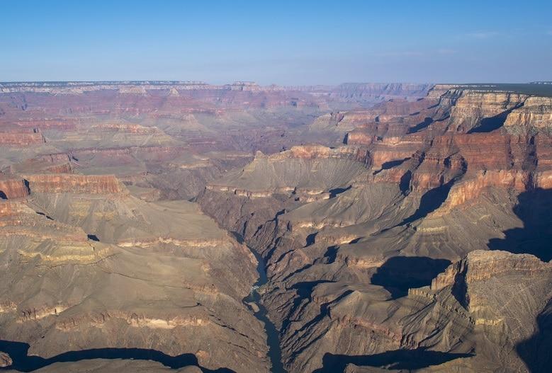 viaje por la Costa Oeste de Estados Unidos grand canyon helicopter