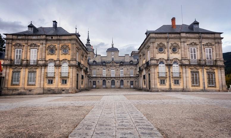 que ver en la Granja de San Ildefonso palacio real